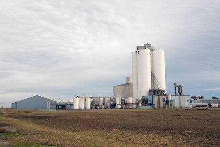 food industry: Sugar refinery, Tracy, California
