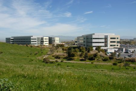 Silicon Valley office park, Mountain View, California