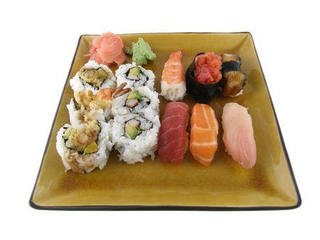 An order of nigiri sushi Stock Photo