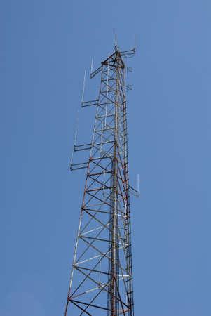Radio transmission tower