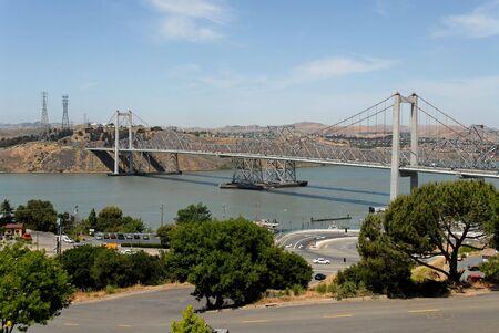 Carquinez Bridge from Crockett, California