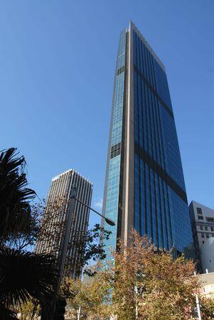 Slender office tower, Sydney, Australia 스톡 콘텐츠