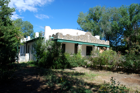 Old Southwestern home, Taos, New Mexico