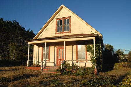 deteriorated: Dilapidated house, Fort Bragg, California
