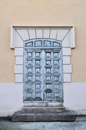 gables: Ornate carved doors, Coral Gables, Florida
