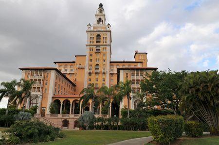 gables: Historic hotel, Coral Gables, Florida Stock Photo
