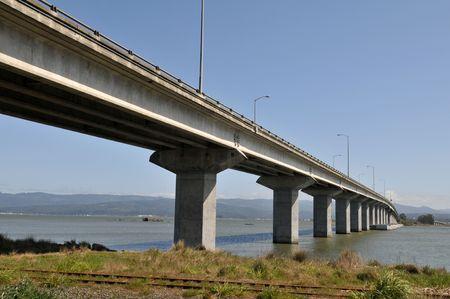 samoa: Samoa Bridge, connecting to Eureka, California