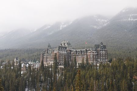 Banff Springs Hotel, Banff National Park, Alberta, Canada photo