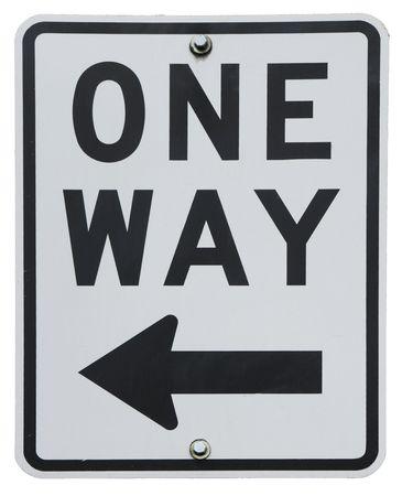One Way signe  Banque d'images - 3110960