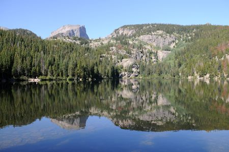 bear lake: Bear Lake, Rocky Mountain National Park, Estes Park, Colorado