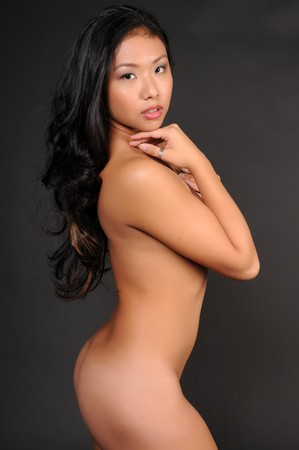 Beautiful young Thai woman poses nude Stock Photo - 4285424