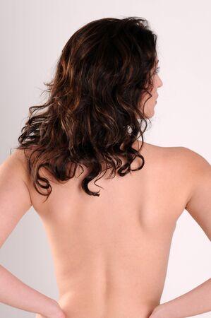 Beautiful brunette posing nude Stock Photo - 4341561
