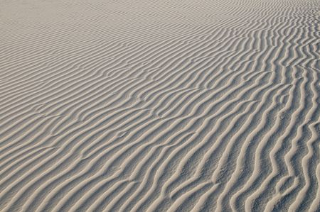 white sands national monument: Ripples in the dunes, White Sands National Monument, Alamogordo, New Mexico