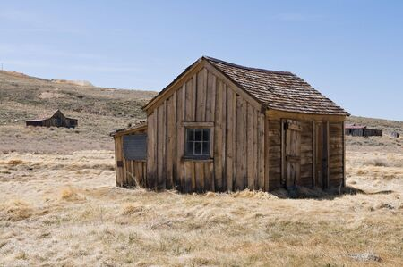 Abandoned building, Bodie State Historic Park, California photo