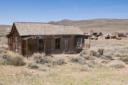 Abandoned home, Bodie State Historic Park, California photo