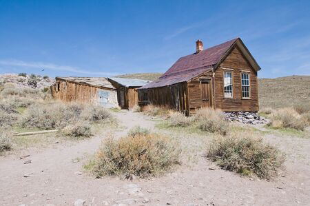 bodie: Abandoned home, Bodie State Historic Park, California