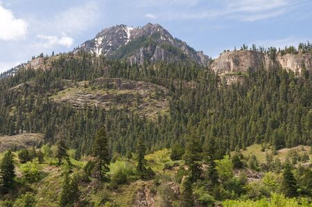 ouray: A view of the mountains south of Ouray, Colorado