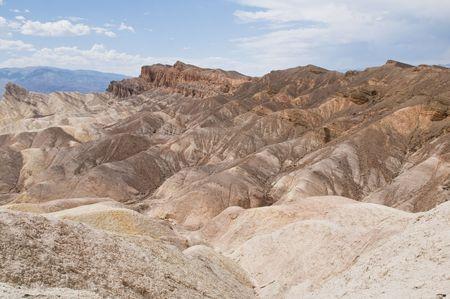 borax: Zabriskie Point, Death Valley National Park, California