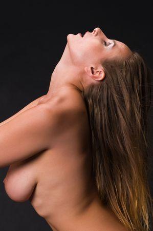 Hermosa mujer rusa posando desnuda Foto de archivo - 5160255