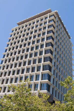 alto: Contemporary office tower, Palo Alto, California