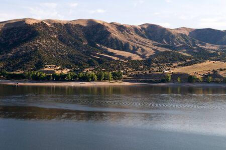 echo: Echo Reservoir, north of Coalville, Utah