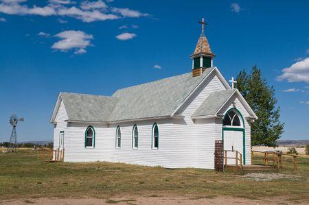episcopal: Early twentieth century Episcopal church, Laramie, Wyoming