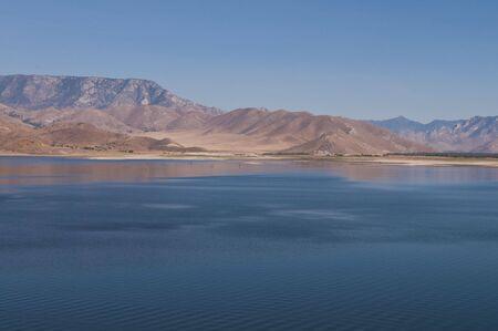 mesa: Lake Isabella near Mountain Mesa, California