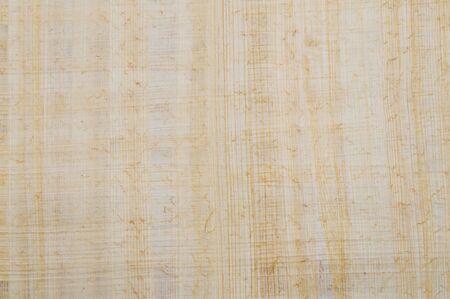 不織布の手作りエジプト パピルス、古代紙材料 写真素材