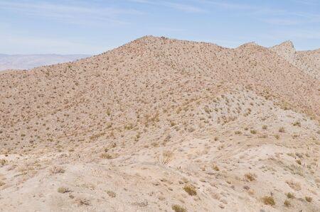 palm desert: La Santa Rosa e San Jacinto Mountains, vicino a Palm Desert California  Archivio Fotografico