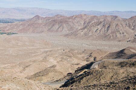 palm desert: La Santa Rosa e San Jacinto montagne vicino Palm Desert California