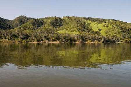 Lake Del Valle Regional Park, Livermore, California Stock Photo