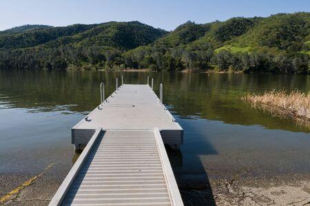 Boat launch, Lake Del Valle Regional Park, Livermore, California