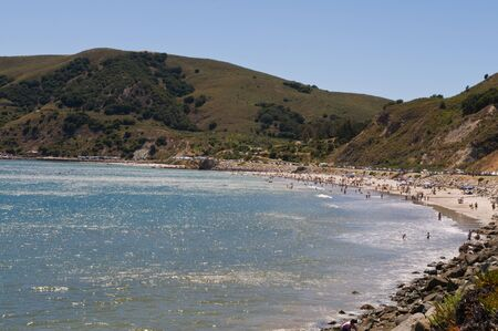 San Luis Bay and Avila Beach, California