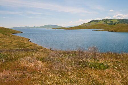 San Luis Reservoir near Los Banos, California