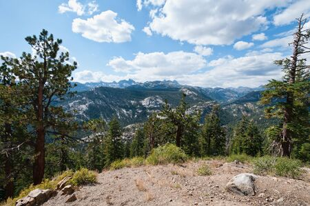 mammoth lakes: Alpine overlook above Mammoth Mountain, Mammoth Lakes, California