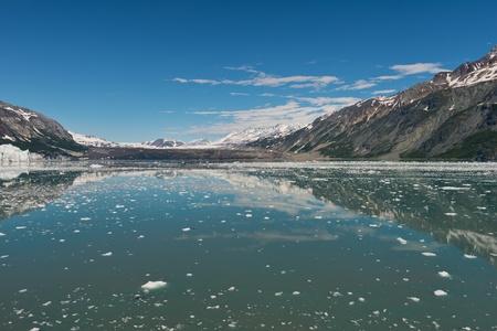 inlet bay: Floating ice, Tarr Inlet, Glacier Bay National Park, Alaska