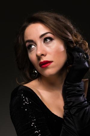 moldovan: Glamour portrait of a Moldovan woman Stock Photo
