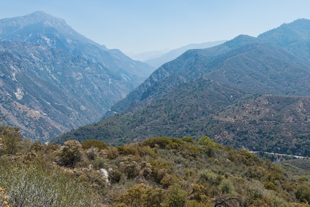 kings canyon national park: Kings Canyon National Park, Hume, California Stock Photo