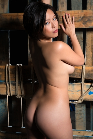 nude girl young: Beautiful young nude Chinese woman