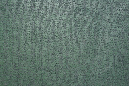 A background of green gauze paper