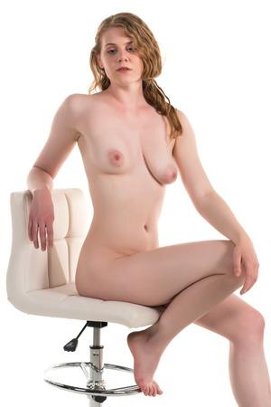 white pale brunette