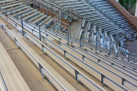 Rows of empty seats in an outdoor amphitheater Reklamní fotografie