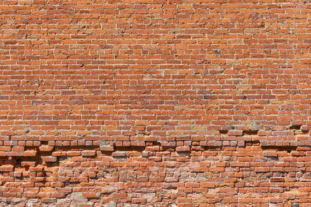 Old uneven brick wall, Palouse, Washington Stock fotó - 41251147