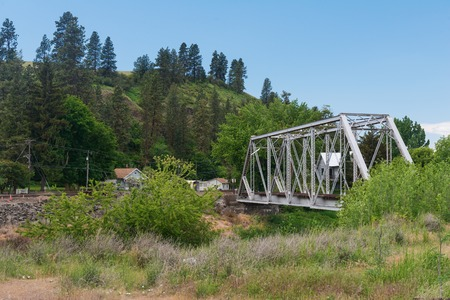 palouse: Railroad trestle over the Palouse River, Colfax, Washington