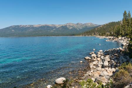 lake tahoe: Lake Tahoe from Memorial Point, Lake Tahoe State Park, New Washoe City, Nevada