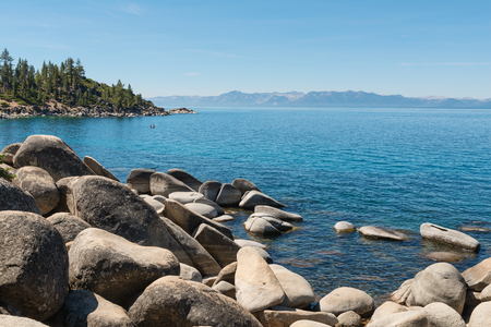 tahoe: Lake Tahoe from Memorial Point, Lake Tahoe State Park, New Washoe City, Nevada