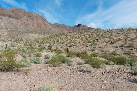 route 66: The Arizona desert along old Route 66 Stock Photo