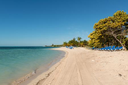 stirrup: Chairs on the beach, CocoCay, Bahamas