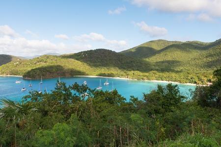virgin islands: America Point and Maho Bay, St. John, U.S. Virgin Islands
