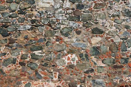 leinster: Old stone wall, Leinster Bay, St. John, U.S. Virgin Islands